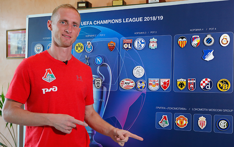UCL Draw: Lokomotiv Version