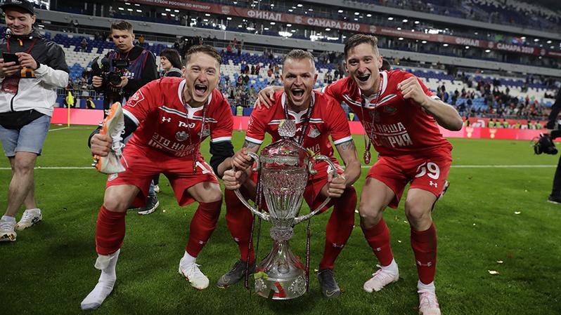 Алексей Миранчук: Эмоции после третьего Кубка уже спокойнее