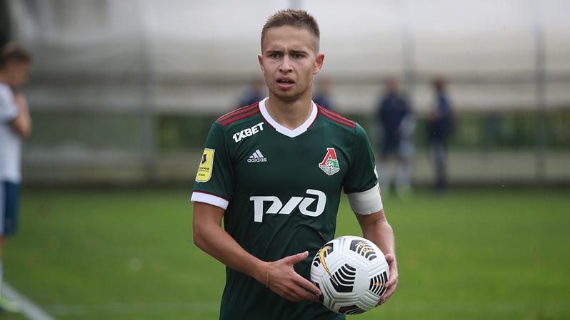 Даниил Куликов после контрольного матча с юношеской сборной России
