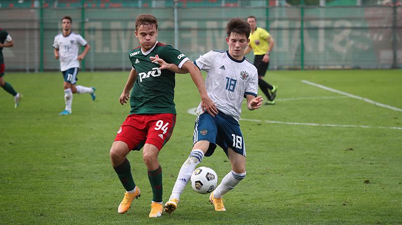 Никита Иосифов о матче «Локо» со сборной России U-19