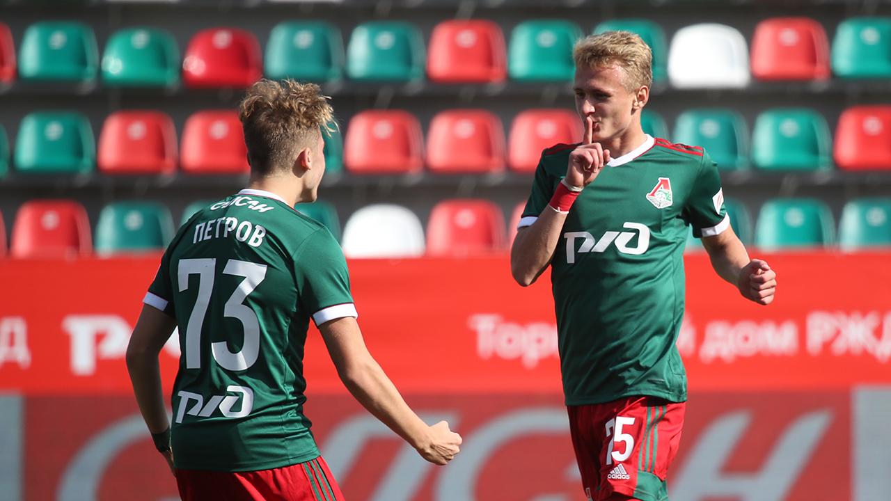 Lokomotiv U-19 - Ural U-19 - 4:0. Highlights