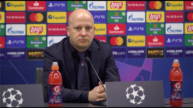 Пресс-конференция Марко Николича после матча с «Атлетико»
