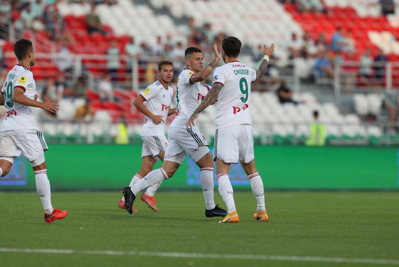 Ufa – Lokomotiv – 1:1. Highlights